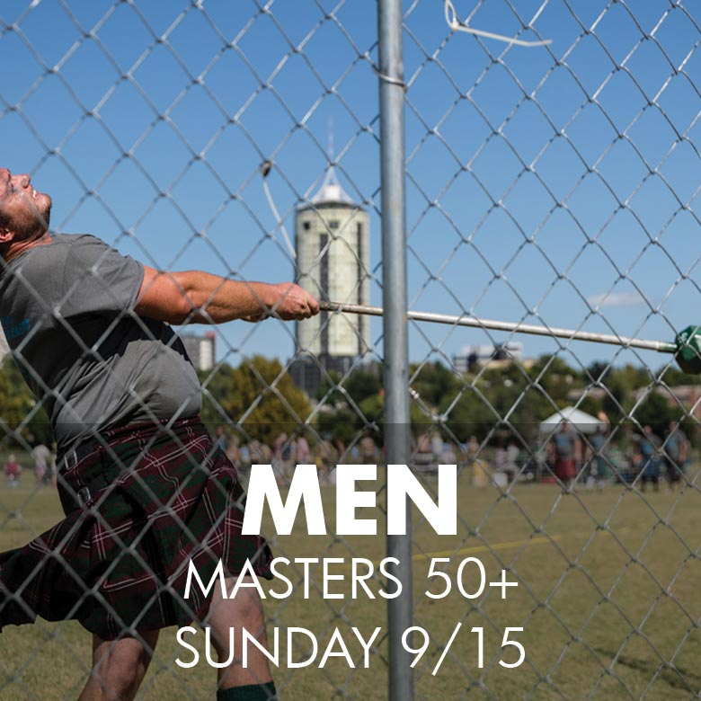 Men's Masters 50+