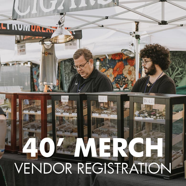 Merchandise Vendor Registration