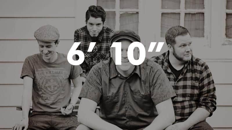 "6' 10"""